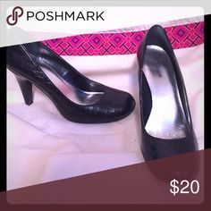 Black high heels. Worn a couple of times, but in really good condition. Super comfortable heels! Perfect for dancing away the night. Style & Co Shoes Heels