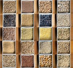 A glossary of 20 whole grains and how to cook them. Whole grains are unrefined and haven't had their bran and germ removed by milling. Whole grains are better sources of fiber and other important nutrients, such as selenium, potassium and magnesium.
