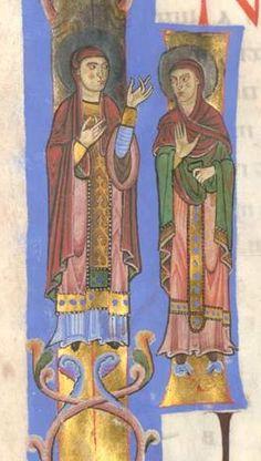 Passauer Evangelistar - BSB Clm 16002, Passau, um 1170 - 1180 Bildnr.77