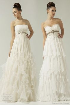 inmaculada garcia 2012 wedding dresses