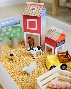 Calling for farm theme activity ideas for toddlers and preschoolers! I'm tryin… Calling for farm theme activity ideas for toddlers and preschoolers! I'm trying something fun this month for my new shelf. Toddler Play, Toddler Preschool, Toddler Crafts, Preschool Crafts, Crafts For Kids, Summer Crafts, Easy Crafts, Farm Activities, Toddler Learning Activities
