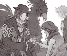 Healer Ardyn Lucis Caelum, the selfless savior of Eos. Another past!Ardyn drawing… i'm obsessed :D Headcanons, headcanons everywhere >.