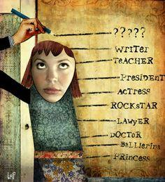 Educarpetas: Medir la altura de los niños y recordar sus sueños.