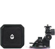 Ecoxgear Eco Pebble Lite Waterproof BT Speaker & Suction Mount