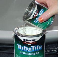 Home Dzine   Restore Or Paint Cast Iron, Ceramic Or Porcelain Bathtub Or  Sink