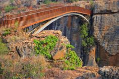 Bridge Over The Canyon In The Blyde River Mpumalanga, South Africa