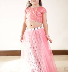 Kids Wear Online, Floral Lehenga, Ghaghra Choli, Kids Wardrobe, Kids Shop, Peach, Skirts, Stuff To Buy, Design