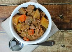 It was a cold, blustery day and I knew I wanted to make a warm, hearty, comforting dish. I also knew I had a lot planned for the day and not too much time to spend in the kitchen. This beef stew was the ideal meal to meet all my needs. There's no pre-cooking, you …