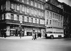 Berlin 1938 Café Kranzler Unter den Linden Ecke Friedrichstrasse