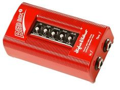 Hughes and Kettner Red Box 5 DI Direct Box: If you want to sound like the cab itself, you need the Red Box 5. Dial in your tone with this direct box's large/small, vintage/modern and tight/loose modes.
