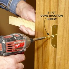 Learn how to install a prehung door. We'll show you foolproof tips and techniques to help you do a great job with prehung door replacement.