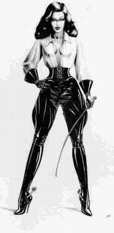 """hermasterhismistress:  """" wonderful…  remains me @ our Closet.. Hmm… maybe later, he will organize my Closet  get off the Streetwear, get in my new Leather Clothes.. more Space for that.. Yes , i think this would be OK. After that.. he will cook for..."""