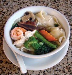 Wor won ton, this recipe takes won ton soup to a whole new level!