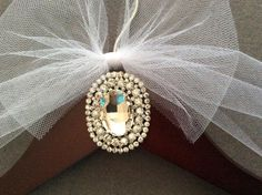 Jeweled Bridal Hanger, Personalized Wedding Dress Hanger,  Bridal Shower,