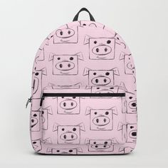 Pig Backpack by chaploart | Society6