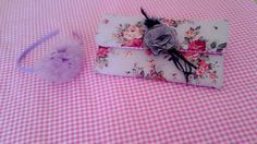 Floral shabby chic tablet sleeve or maybe clutch? hihihi this called multifunction