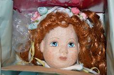Original Marie Osmond Heartfelt Kiana Doll felt redhead Limited edition 209/750