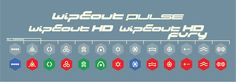 Wipeout Pulse/HD/Fury icons