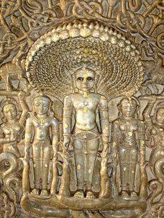 Ranakpur Temple - Rajasthan  Plaque of Parshava