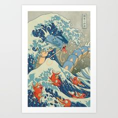 The Great Wave Off Kanto - $15