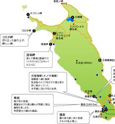 礼文島- 礼文遊歩ガイド -Rebun Island