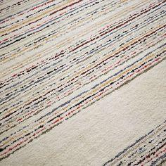 Roar   Rabbit Horizon Stripe Rug - Ivory #westelm