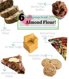 Healthy Three Ingredient Fudge and 5 Almond flour recipes