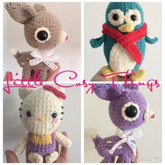 littlecosythings amigurumi #crochet animals