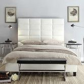 Found it at Wayfair - Midtown Upholstered Panel Bed