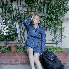 ドロップスナップ!UNA (ユーナ) , モデル / アーティスト   droptokyo Normcore, Artist, Model, Tops, Fashion, Moda, Fashion Styles, Scale Model