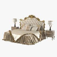 3d model giusti portos amadeus bedroom
