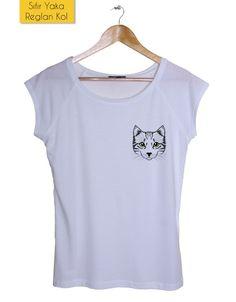 Cat - Kadın Tişört