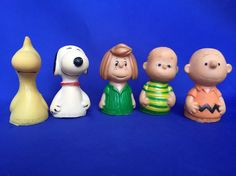 VTG Peanuts United Feature Syndicate 3 Charlie Brown Snoopy Woodstock Linus Patti #vintage #peanuts
