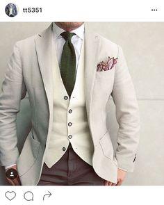 Brown Pants Blue Wedding Suit Groom, Wedding Suits, Gentleman Mode, Gentleman Style, Suit Fashion, Mens Fashion, Lucky Tiger, Men Warehouse, Elegant Man