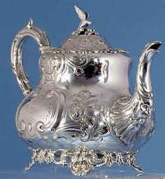 sterling silver tea pot❤❤❤