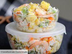 Salade hawaienne - Recettes - The Best New Orleans Recipes Healthy Recipes For Diabetics, Healthy Gluten Free Recipes, Healthy Pasta Recipes, Cooking Recipes, Best Mexican Recipes, Mexican Food Recipes, Ethnic Recipes, Hawaiian Recipes, Shrimp Recipes For Dinner