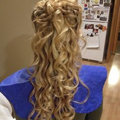 A recent bridal hair style by Jacki from RS Makeup Artistry.