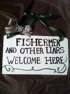 Home decor, Fishing Sign, Fishing Decor, Decorative wall sign