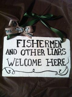 Home decor, Fishing Sign, Fishing Decor, Decorative wall sign
