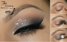 """Janine from """"The Amazing World of J"""" shows us how to use the Mavens Elements palette to create this """"Dark Secrets"""" look in a simple eyeshadow tutorial."""
