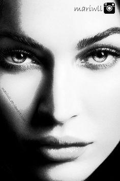 Megan Fox. Digital Art. #Drawing #girl #digital