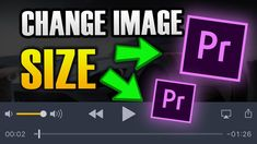 HOW TO MAKE IMAGE BIGGER/SMALLER IN PREMIER PRO How To Make Image, Big And Small, Change Image, Tech, Technology