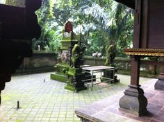 Temple inside Monkey Forest - Best angle I cold get!