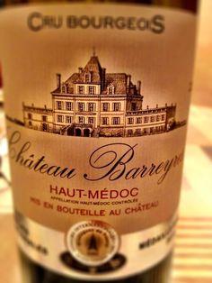 El Alma del Vino.: Groupe Castel Château Barreyres 2010.