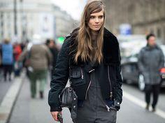 pfw street style fall 2013 runway via W magazine