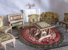 Antique Bliss Dollhouse Miniature Doll House door LittleRedPolkaDots, $1350.00!!!