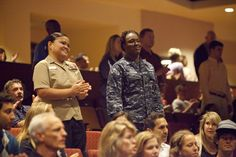 Military Appreciation Sunday - Photo Gallery - The Rock Church    #SDRock  #RockMilitary