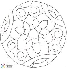 Templates Printable Free, Free Printables, Spiral Shape, Mandala Coloring, Quilling, Shapes, Drawing, Collage, Portrait