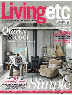 living etc magazine cover 2012