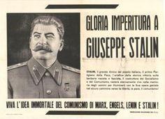 Ecco come titola un giornale italiano all'epoca di Stalin